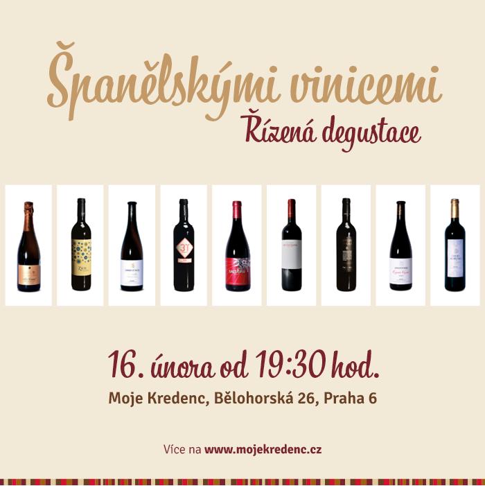 Pozvánka na degustaci: Španělskými vinicemi