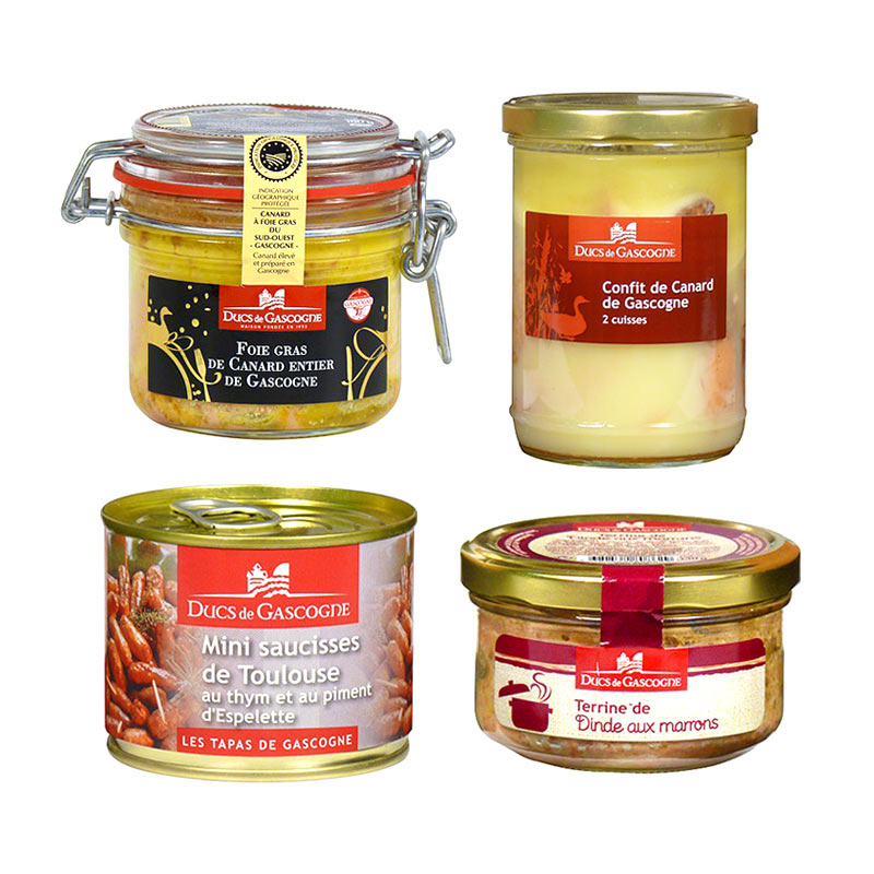 Kachní ahusí Foie gras zDucs de Gascone