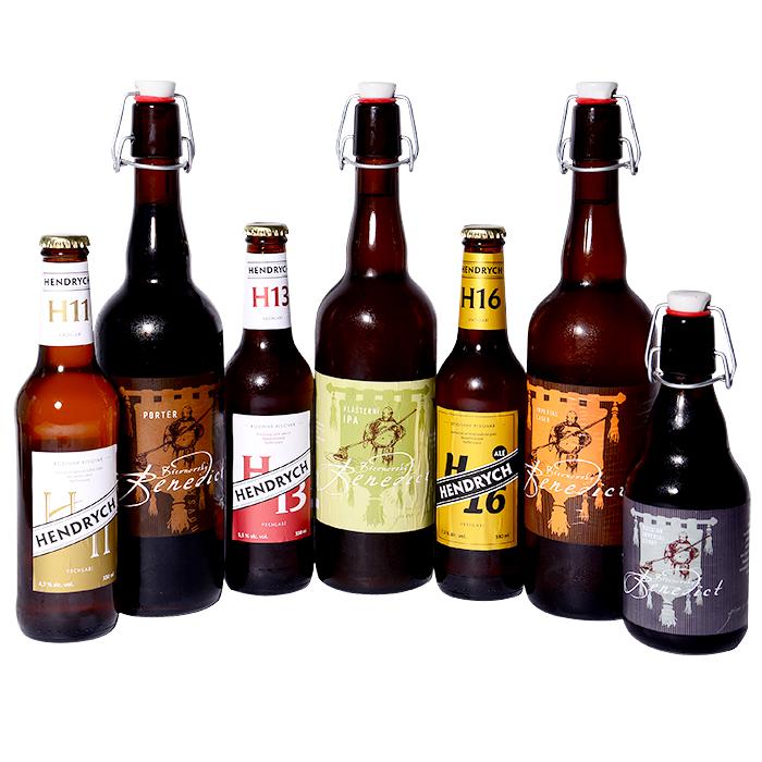 Nepasterizovaná piva zmalých pivovarů