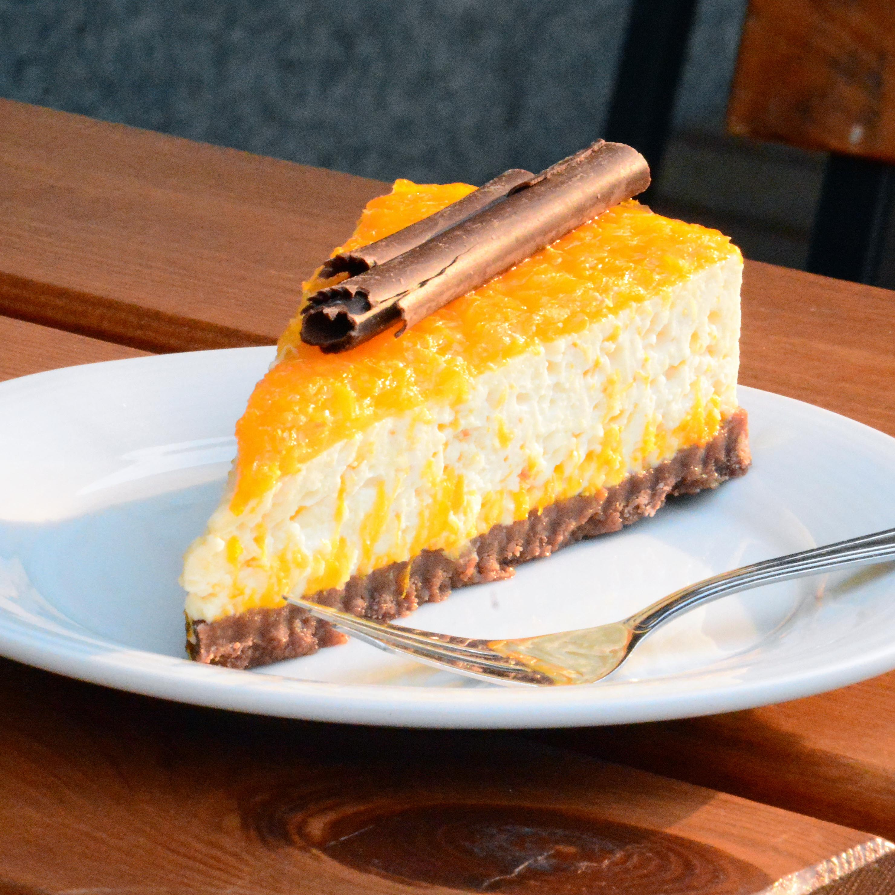Novinka: Mandarinkový cheesecake