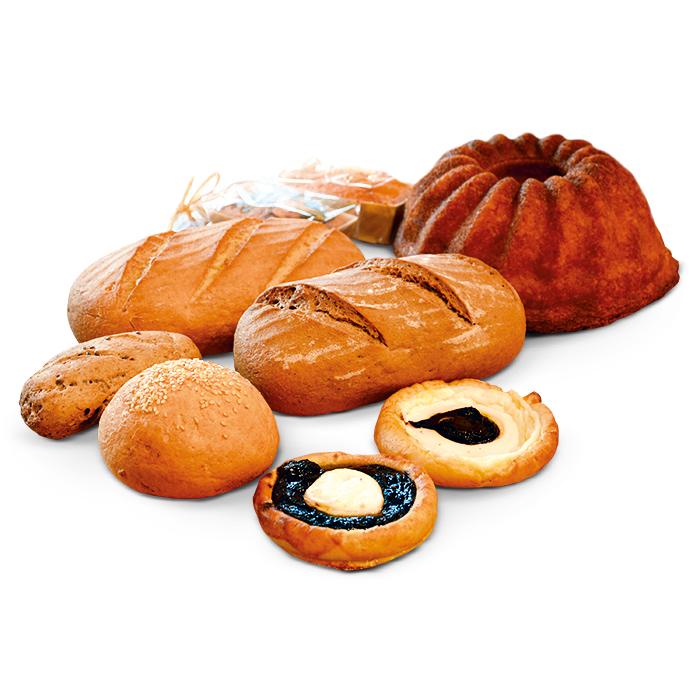 Chleby, bábovky akoláče bez lepku