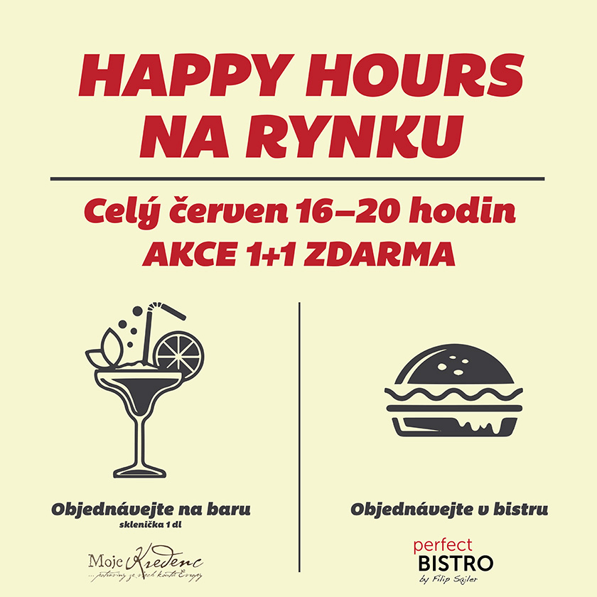 Červnové Happy hours na Pankráci