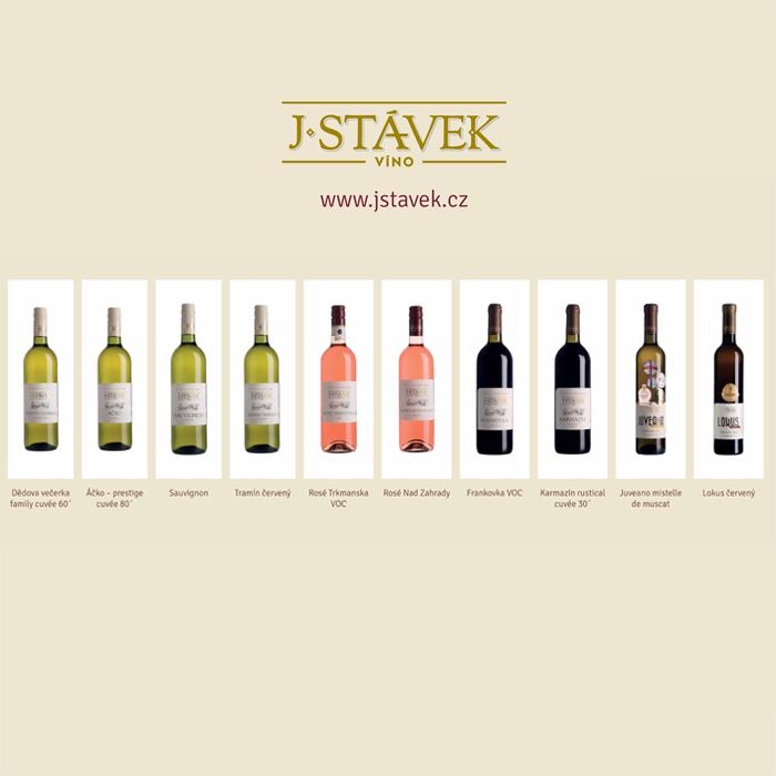 Pozvánka na řízenou degustaci: Vinařství Jan Stávek