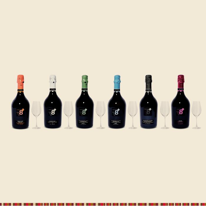Vánoční dárek: 6 lahví + 6 sklenek zdarma