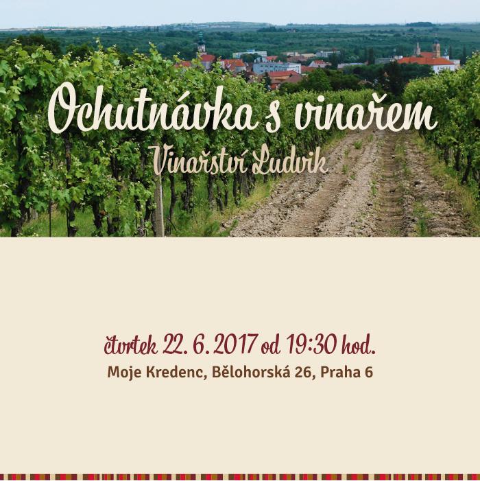 Ochutnávka svinařem:Vinařství Ludvik
