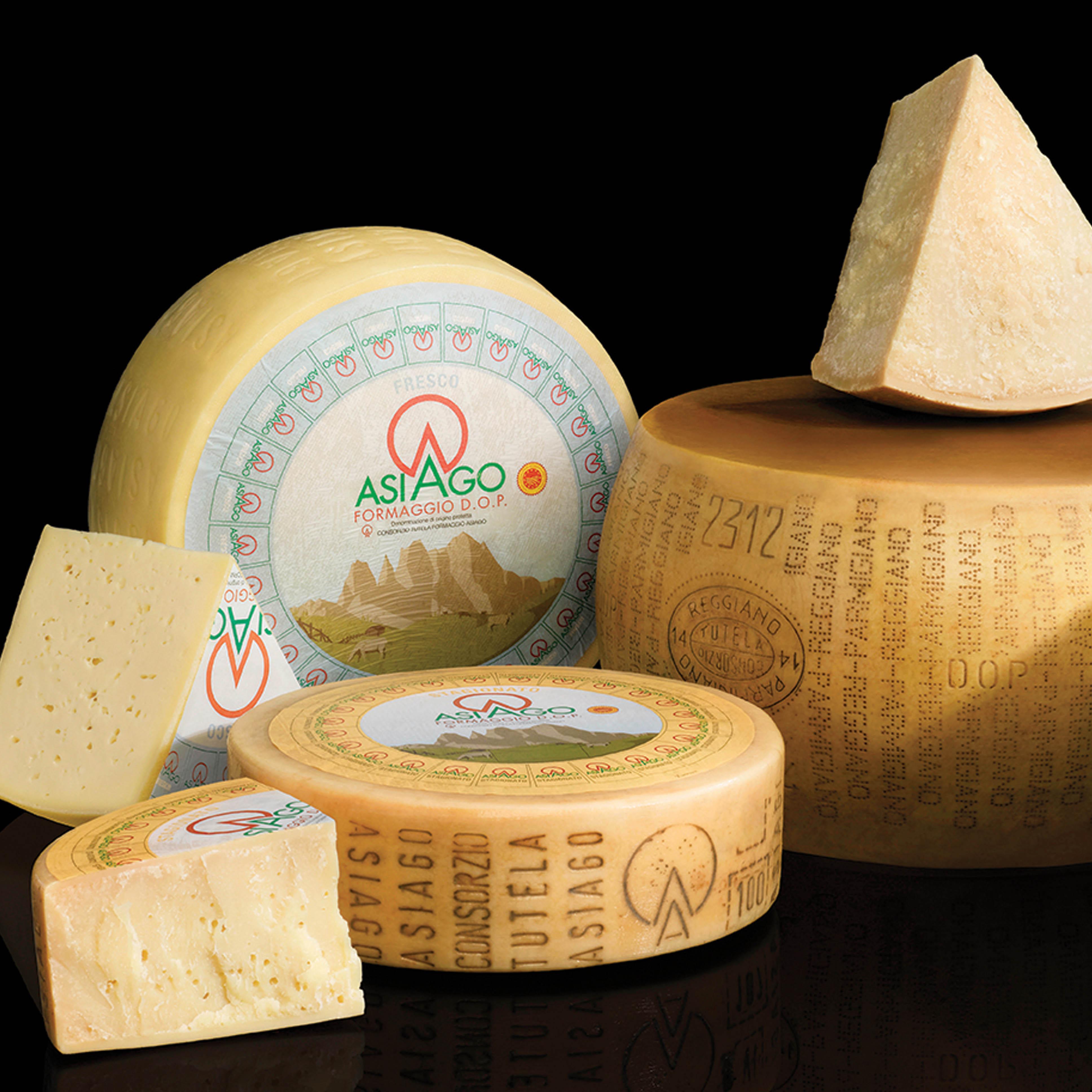 Ochutnávky italských sýrů