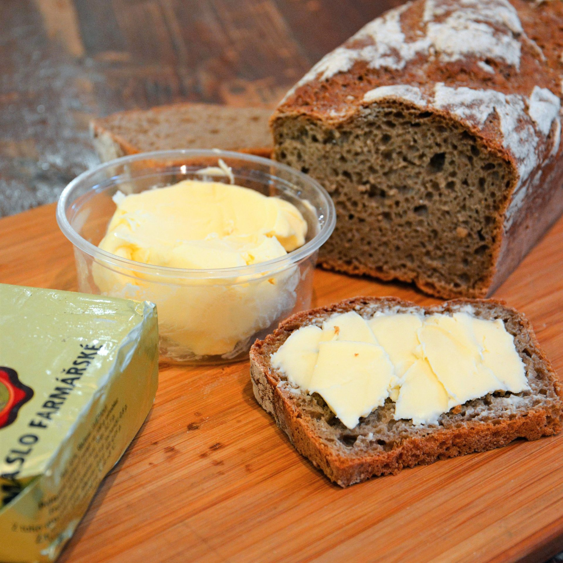 Farmářské máslo zKrhanic