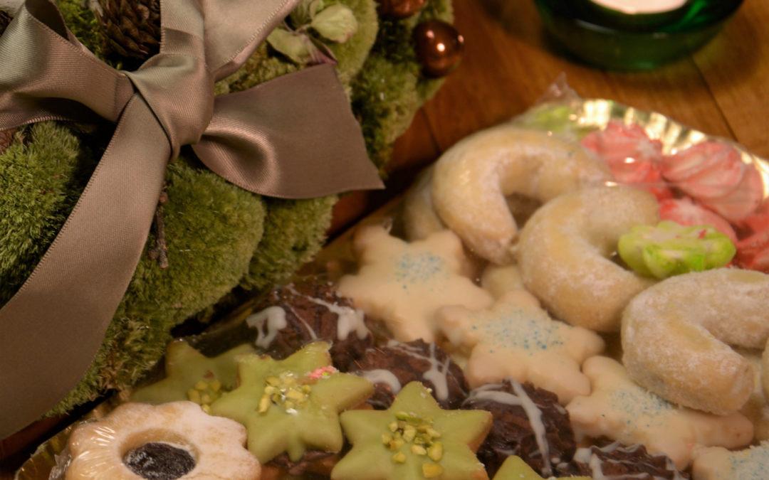 Vánoční cukroví zKredence