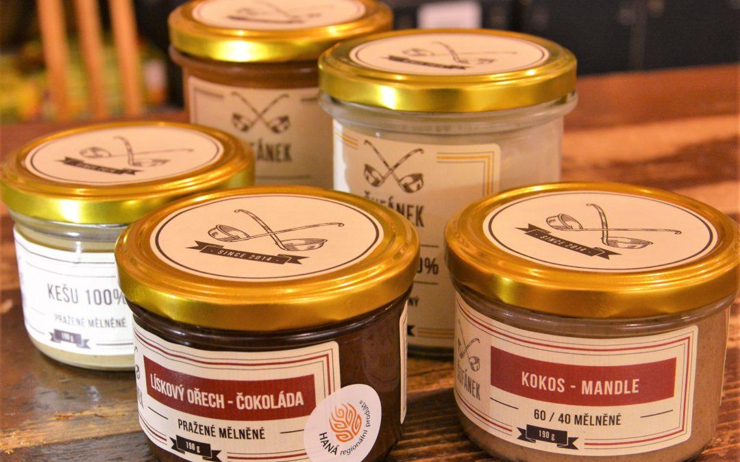 Ořechová másla od Šufánka